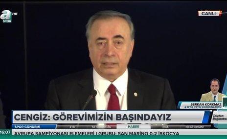 """""""Galatasaray'da seçmedikleri başkanı gönderme planları vardı"""""""