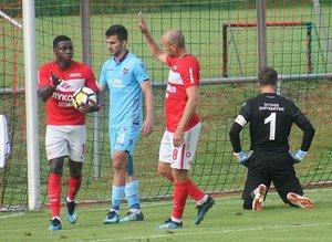 Trabzonspor 1-4 Spartak Moskova maçından görüntüler
