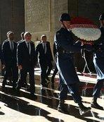 Bursaspor Anıtkabir'i ziyaret etti