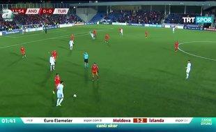 Andorra 0-2 Türkiye | MAÇ ÖZETİ