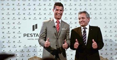 Cristiano Ronaldo oteli hizmete açıldı