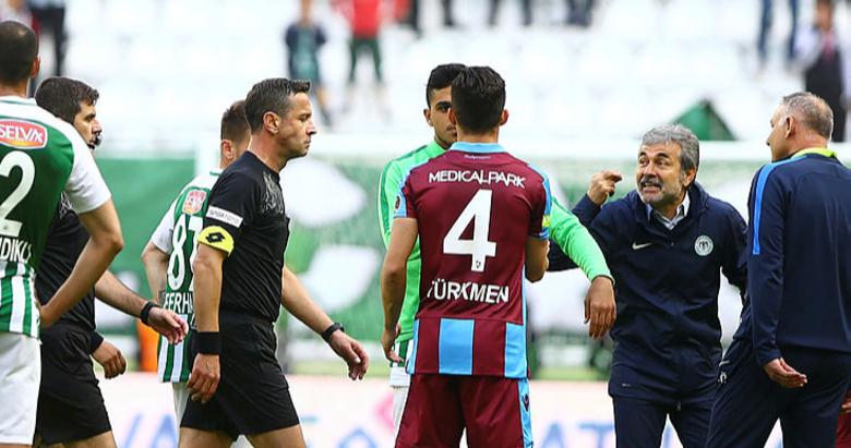 Konyaspor - Trabzonspor maçı sonrası şok sözler! Senin ağzını burnunu kırarım