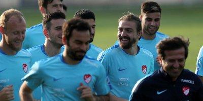Makedonya maçı hazırlıkları tamamlandı