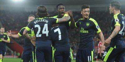 Arsenal rahat kazandı