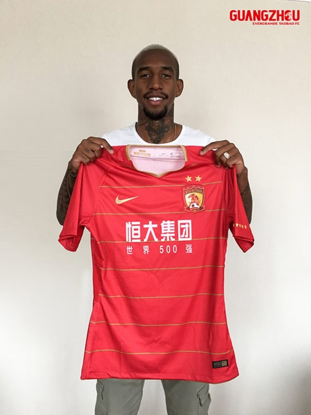 Anderson Taliscanın Guangzhou Evergrandeden alacağı maaş belli oldu