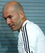 Zidane basın toplantısında duyurdu: Bir ya da iki bomba...
