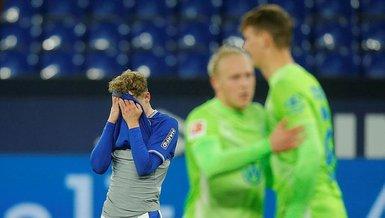 Schalke Wolfsburg: 0-2 (MAÇ SONUCU - ÖZET)