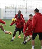 Sivasspor Aytemiz Alanyaspor maçı hazırlıklarına başladı