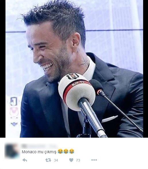 Monaco eşleşmesi Twitter'ı salladı!
