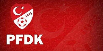 5 kulüp PFDK'lık