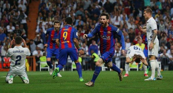 Barcelona, Real Madrid'i 90+3'te Messi ile yıktı