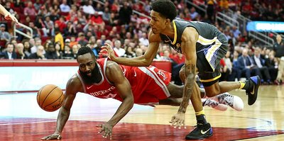 "Rockets, Warriors'a ""dur"" dedi"
