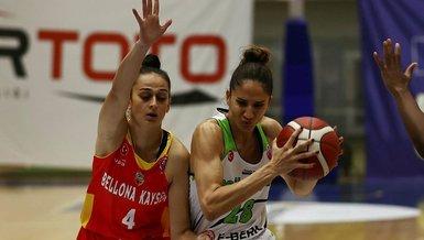 Nesibe Aydın- Bellona Kayseri Basketbol: 84-57   FIBA Kadınlar Avrupa Kupası