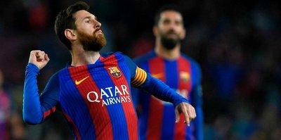 Barcelona 7 bitirdi!