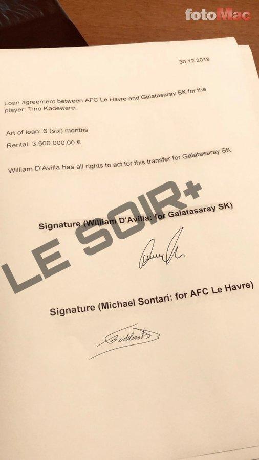 Galatasaray yeni golcüsüne imzayı attırdı! İşte o sözleşme