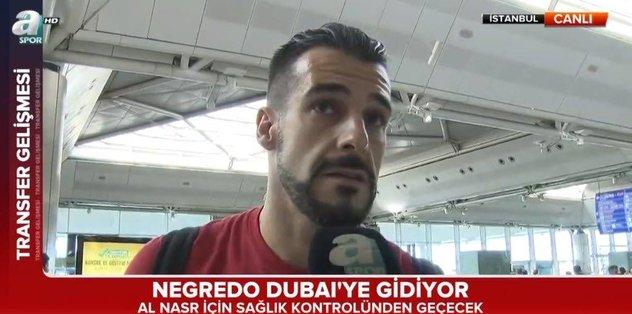 Negredo Al Nassr için Dubai'ye gidiyor!