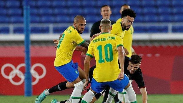 Son dakika Tokyo 2020 Olimpiyatları haberi: Brezilya Almanya 4-2 (MAÇ SONUCU - ÖZET)