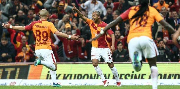 Galatasaray, Medipol Başakşehir'i yıkıp liderliğe yükseldi