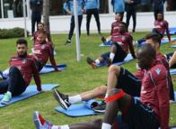 Trabzonspor Fenerbahçe maçı hazırlıklarını sürdürdü