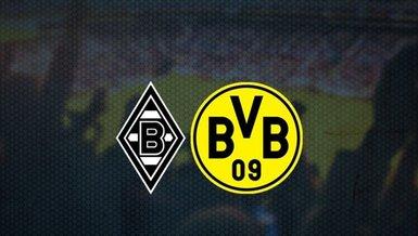 Borussia Mönchengladbach Borussia Dortmund maçı canlı