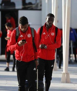 Sivasspor, İstanbul'a geldi