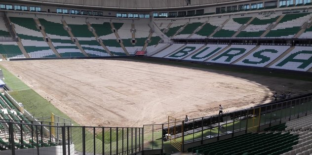 Bursa Stadı'na hibrit çim