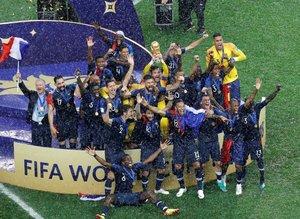 2018 Dünya Kupası'nın sahibi Fransa! İşte maçtan kareler...