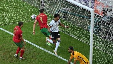 Son dakika spor haberi: Almanya maçında Portekiz kendi kalesine 2 gol attı (EURO 2020 haberi)