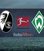 Freiburg - Werder Bremen maçı ne hangi kanalda, saat kaçta, ne zaman?