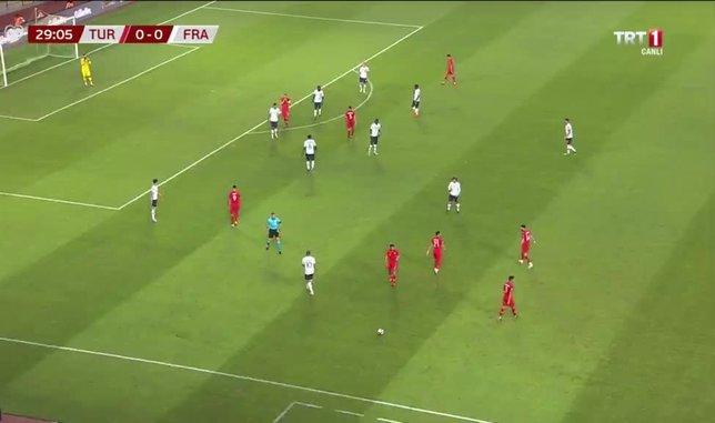 GOL | Türkiye 1-0 Fransa