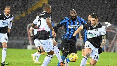 Udinese Inter 0-0 (MAÇ SONUCU - ÖZET)