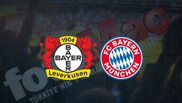 Bayer Leverkusen - Bayern Münih maçı saat kaçta ve hangi kanalda?