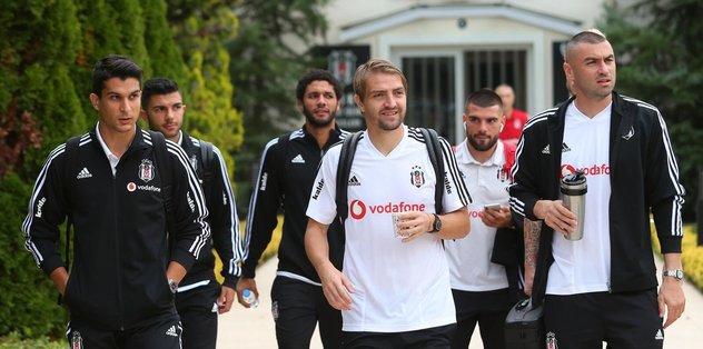 Beşiktaş Ankaragücü maçı için Başkent'te