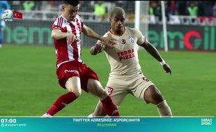 Galatasaray'a Sivasspor dur dedi
