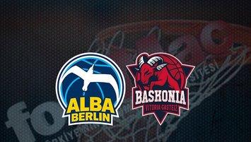 Alba Berlin - Baskonia maçı saat kaçta? Hangi kanalda?