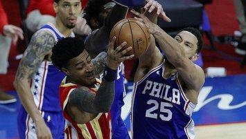NBA'de 76ers Hawks karşısında seriyi eşitledi
