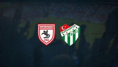 Samsunspor - Bursaspor maçı ne zaman, saat kaçta ve hangi kanalda canlı yayınlanacak? | TFF 1. Lig