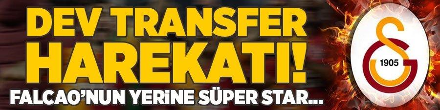 Galatasaray'dan dev transfer harekatı! Falcao'nun yerine süper star...