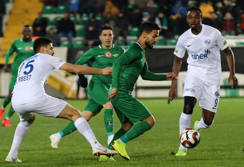 Akhisarspor - Kasımpaşa maçından kareler