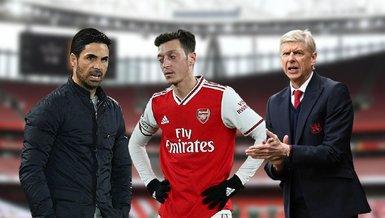 """Arteta'dan Arsene Wenger'e Mesut Özil yanıtı! """"Kadro dışı kalan tek o değil"""""""