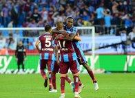 Trabzonspor - Kasımpaşa maçından kareler