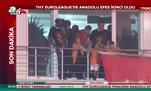Galatasaray şampiyonluğu Florya'da böyle kutladı