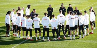 Galatasaray ilk idmanına çıktı