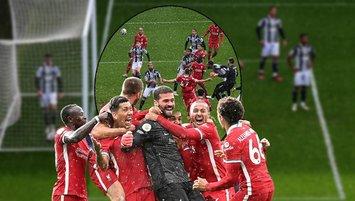 İnanılmaz maç! Kaleci Alisson attı Liverpool kazandı