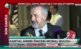 Beşiktaş Genel Sekreteri Ahmet Ürkmezgil'den taraftara yanıt