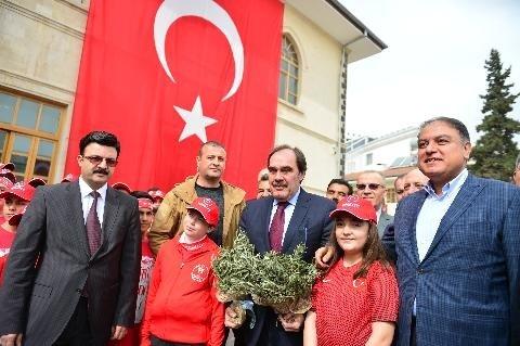 TFF, Zeytin Dalı Harekâtı'na destek için Kilis'te
