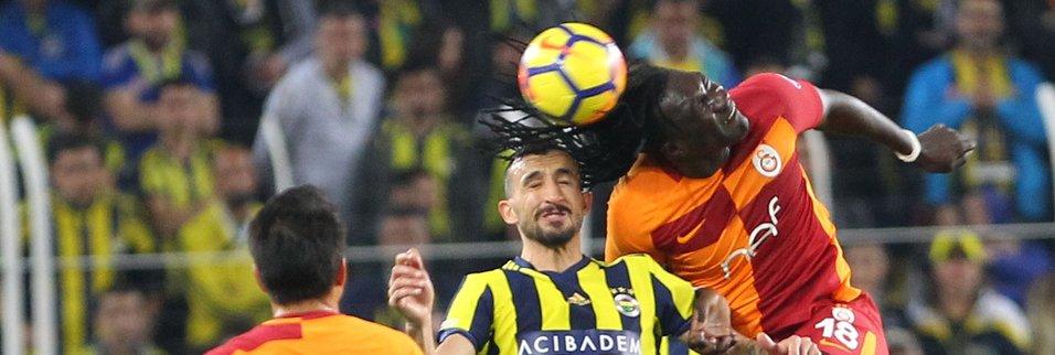 İşte Fenerbahçe-Galatasaray maçından kareler