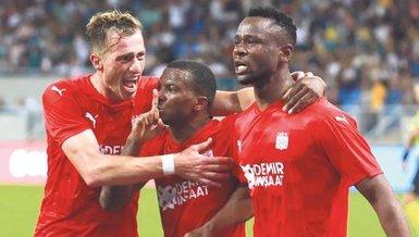Sivasspor'da James sevinci