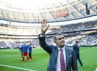 Beşiktaş taraftarlarından Şenol Güneş'e sevgi seli