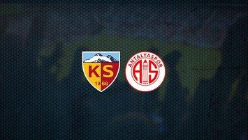 Kayserispor - Antalyaspor maçı saat kaçta ve hangi kanalda?